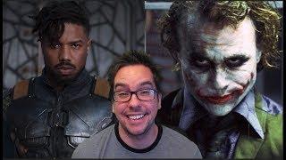 Killmonger Vs. Heath Ledger's Joker. Thoughts...
