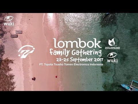 Lombok Family Gathering PT. Toyota Tsusho Tomen Electronics Indonesia