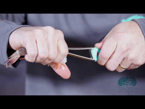Shrimp Deveiner:  Safety How To