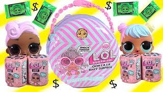 NEW BIG LOL Surprise Ooh La La Little Baby Sister Money Blind Bags + Color Change
