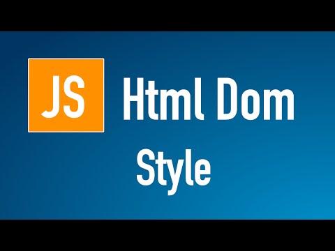 Learn JS HTML Dom In Arabic #29 - Elements - Style