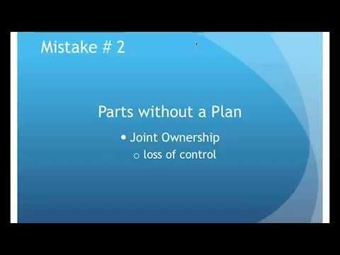 Avoiding Common Estate Planning Mistakes