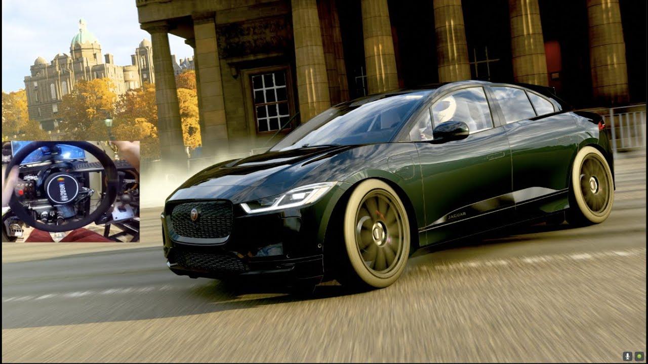 Forza Horizon 4 GoPro - NEW Electric Jaguar I-PACE Can Drift?? thumbnail
