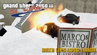 GTA III Snow City Mission #7 - Mike Lips Last Lunch