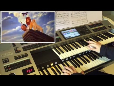 Can You Feel The Love Tonight (fr Lion King) : Yamaha Electone ELS-02C