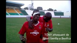 Tony attaquant de Sport Bissau e Benfica