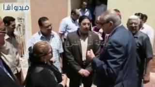 بالفيديو:محافظ المنيا يفتتح مركز شباب دماريسX