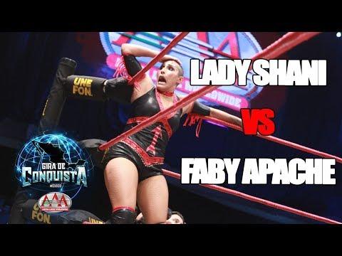 Lady Shani Vs Faby Apache en Monterrey   Lucha Libre AAA Worldwide