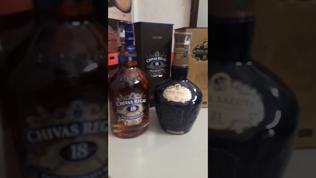 Giới thiệu rượu chivas 18 và rượu chivas 21 năm hàng chính hãng