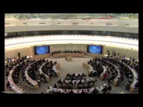 China's UPR Report Consideration at UN Human Rights Council (English), March 20, 2014