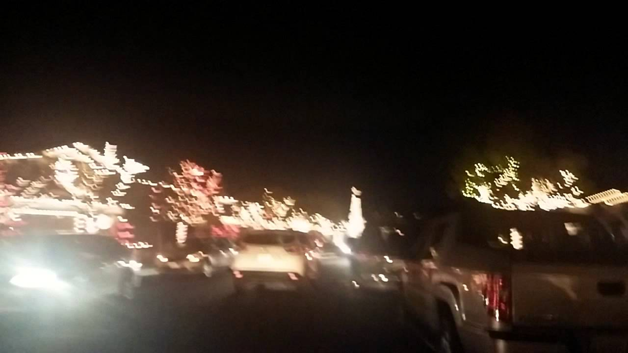 Yucaipa Christmas lights Let it Go. - YouTube