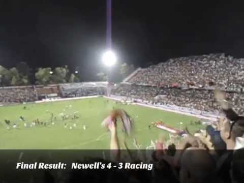 Newell's vs. Racing (Argentina Primera Division), 28.04.2013 (Travel Videoblog 039)
