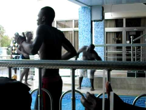 Accra Ghana Pool Party I - Ghanaian music -