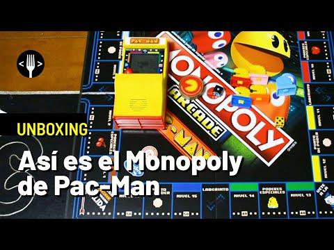 Así es el Monopoly Arcade de Pac-Man