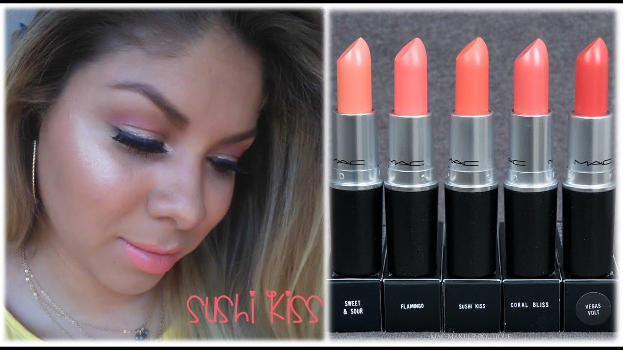 Bien-aimé Maquillaje Sencillo para Verano - Labial Mac Sushi Kiss - YouTube CR88