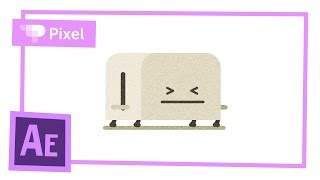 Простая анимация тостера в After Effects | уроки для начинающих