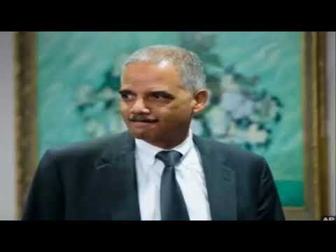 'ABSOLUTE RED LINE' Eric Holder Issues Second Warning Against POTUS Trump Firing Mueller