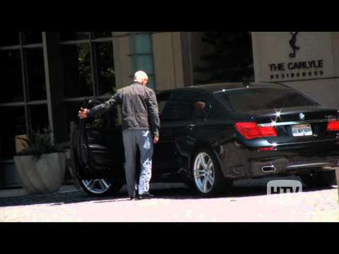 BMW 7 Series: Bruce Willis Spotted In Hollywood Sporting His Black Car.