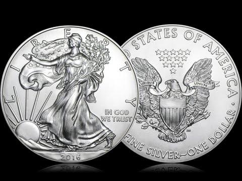 Moneda De Plata American Eagle 2016 1 Oz
