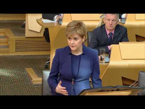 First Minister's Questions - Scottish Parliament: 25 May 2017