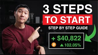 How to Trade Cryptocurrency As a COMPLETE Beginner Using ONE simple Indicator!