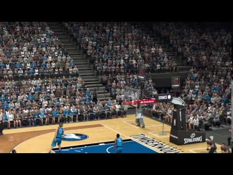 NBA 2K17 Sitting Down Trick Shot