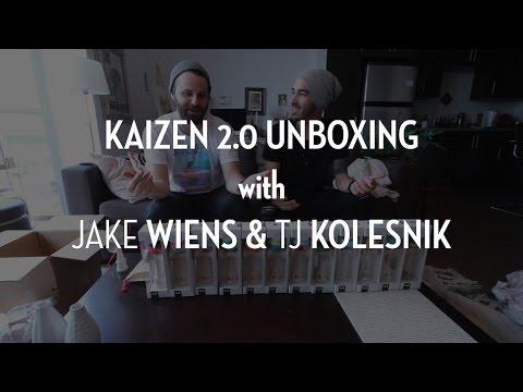 Kaizen 2.0 Unboxing with Jake Wiens and Tj Kolesnik