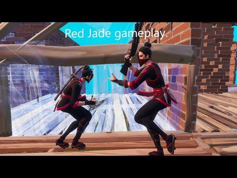 Red Jade Zone Wars Gameplay! (Fortnite Clean)