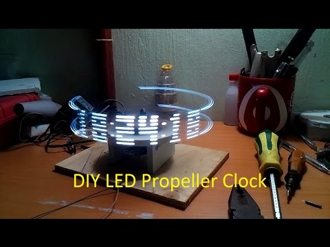 How to make a propeller clock