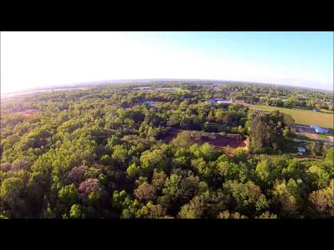 Sunny evening in Savannah, TN flying around neighborhood with Yuneec Q500