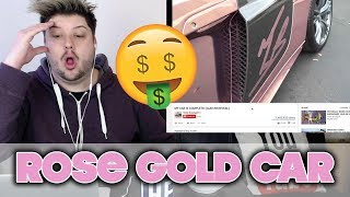 MY CAR IS COMPLETE! (AUDI R8 REVEAL) | ROSE GOLD REACTION!
