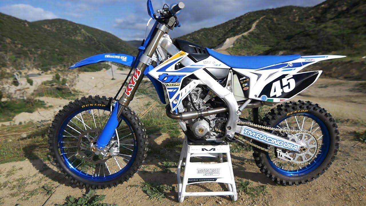 Tm Dirt Bikes >> First Ride 2019 Tm 250fi Motocross Action Magazine Youtube