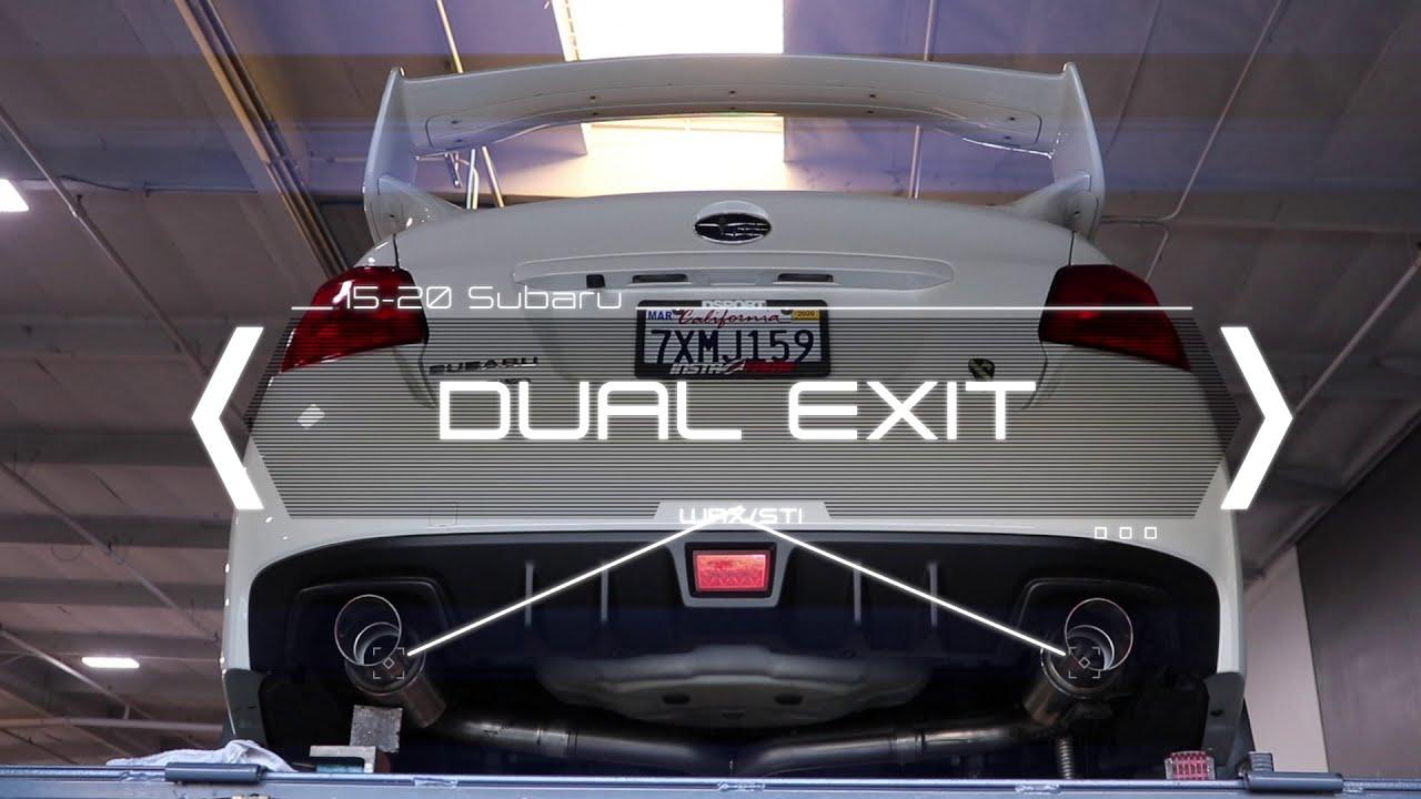 Carven Exhaust 2015-2020 DUAL Exit Cat-Back Kit