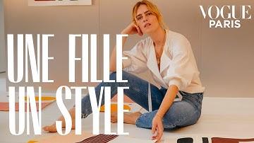 Inside Inès Mélia's Parisian apartment | Une Fille, Un Style | Vogue Paris