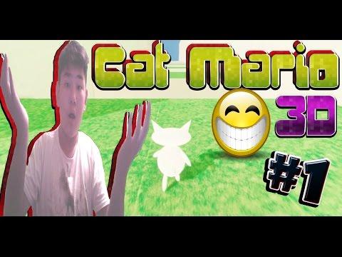 #1 Первый уровень пройден в Cat Mario 3D