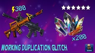 *NEW* How To DUPLICATE ANY Items In FORTNITE STW (Malachite Ore & More Duplication Glitch)