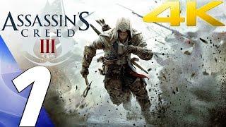Assassin's Creed 3 - Gameplay Walkthrough Part 1 - Prologue [4K 60FPS]