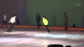 Artistry On Ice, Shanghai - Rehearsals (26.07.2014)