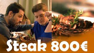 Steak 3€ VS Steak 800€ avec TechNews&Tests et Melusine. Boeuf de Kobe