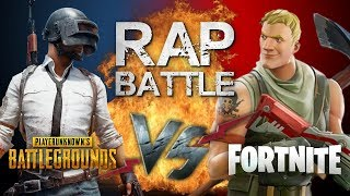 Рэп Баттл - PlayerUnknown's Battlegrounds vs. Fortnite: Battle Royale
