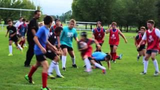 SOUA Rugby  Entrainement U14 septembre 2015
