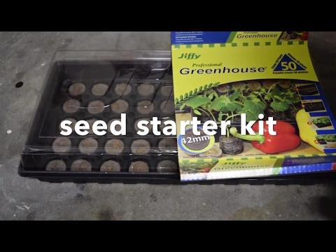Jiffy seed starter kit