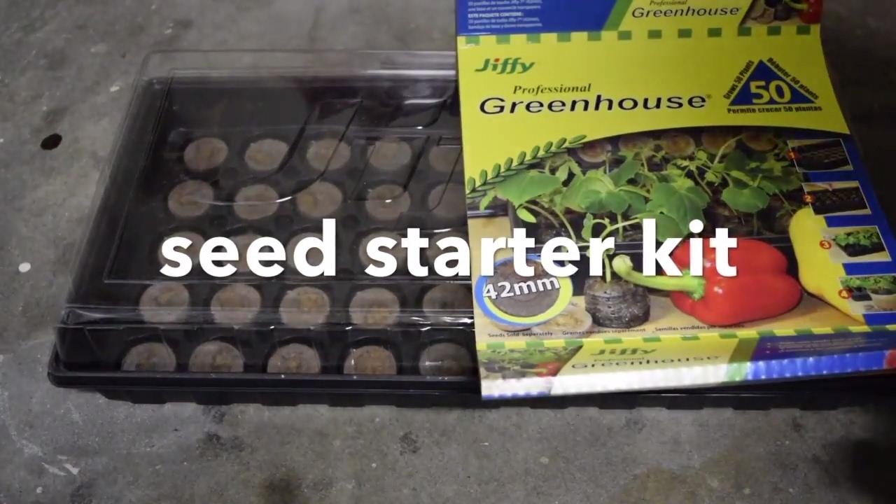 Best seed starter kit seed starting trays best seed starter kit.