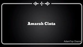 (Lirik Video) Amarah Cinta - Aliff Aziz [OST Drama 'Melankolia']
