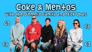 salem ilese - coke & mentos with the d'amelio family and nick uhas
