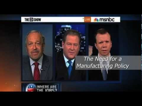 Interviews with Alliance for American Manufacturing (AAM) Executive Director Scott Paul