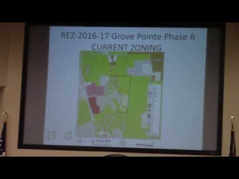 5.b. REZ-2016-17 Grove Pointe Ph 6, Dasher Grove Rd,