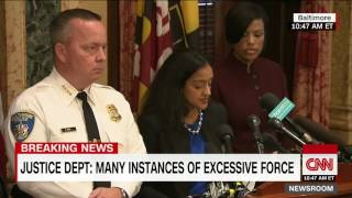 Justice Department Finds Baltimore Police Practices Racially Biased!
