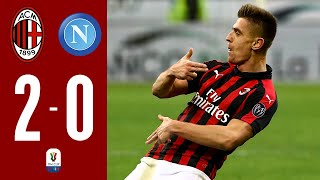 Highlights | AC Milan 2-0 Napoli | Coppa Italia QuarterFinals | Presented by MilanistA Design.