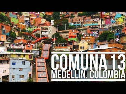 COMUNA 13 - MEDELLÍN, COLOMBIA | Eileen Aldis